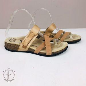 Abeo Bryce neutral B.I.O. sandals 7 orthotic